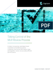 Taking Control of the MLR Review Process