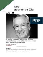 12 Frases Motivadoras de Zig Ziglar