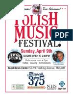 Polish Music Festival - 4/9/17