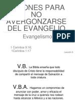 20170129 Leccion 3 Razones Para No Avergonzarse Del Evangelio Evangelismo