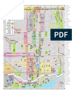 Tourism Toronto 2016 Map of Downtown Toronto