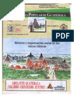 Historia y Organización Social de Los Pueblos Mayas