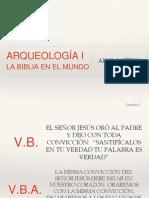 20170122 Leccion 2 ARQUEOLOGIA I La Biblia en El Mundo Apologetica