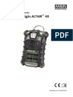 ALTAIR 4X Operating Manual - PT