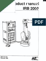 Irb 2000 M90 Productmanual