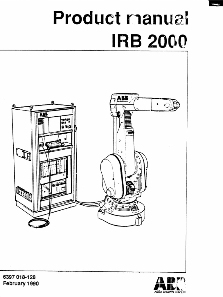 Irb 2000 M90 Productmanual