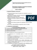 Guía Para Implementación Del Sg Etapa 1 Planear