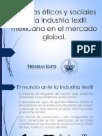 Desafios Éticos y Sociales de La Industria Textil - r.h.r.