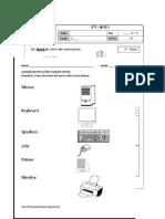Multimedia worksheet