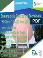 Semana Nacional de La Ciencia_Planetario de Ciudad Victoria_nov-16