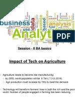 Business Analytics 9605 Session 2