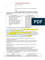 Fisiopatología Respiratoria 1 y 2