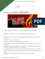 03 Cómo Jugar La Guitarra Del Jazz - Una Guía de Prácticas _ GUITARRA WARNOCK MATT