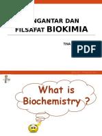 Pengantar Dan Filsafat Biokim