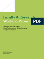 FACULTY & RESEARCH WORKING PAPER