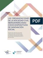 Las Organizaciones de La Sociedad Civil Iberoamericanas Como Dispositivos de Innovacion Social
