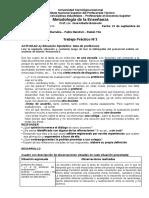 Actividad 3 - Sala Profesores- Mendivil Tito Villarubia