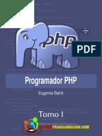 Programador PHP Tomo 1 - Eugenia Bahit