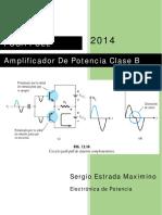 Amplifcador Clase B (Push Pull)