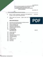 Dm Question Paper Second Year Ir Batch