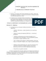 Comision Politica CF EE.GG.LL.