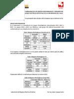 Datos de Placa de Las Máquinas de Los Grupos Westinghouse y Oerlikon