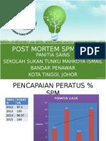 Post Mortem Spm 2015