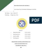 Laporan Praktikum IMKG (Setting Expansion Gipsum Tipe III Berdasarkan Perbandingan Air dan Bubuk)