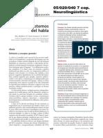 05020040 BERTHIER, CASARES Y DAVILA - Afasias y Trastornos Del Habla