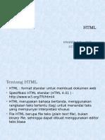 Materi Kuliah HTML