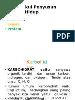 PPT Klasifikasi Biomolekul Utama Penyusun Organime