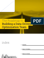 Building a Data-Driven Optimisztion Team