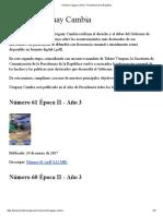 Revista Uruguay Cambia - Presidencia de la República.pdf