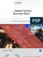 Showcase DatabaseSuccessTesting
