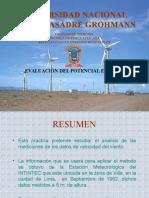 Clase 4 Evaluacion Del Potencial Eólico