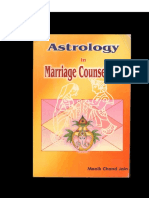 Astrology in Marriage Counselling 2002 by Manik Chand Jain