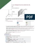 Cómo Dibujar Un Diagrama de Sistema de Coordenadas