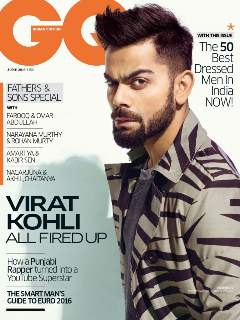 3b7600b54632e5 GQ India - June 2016 | Vogue (Magazine) | Fashion