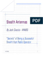 Stealth Antennas