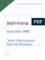Stealth Antennas
