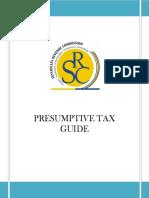 Presumtive Tax Guide