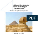 The Glories of Ancient Egypt Teachers Guide