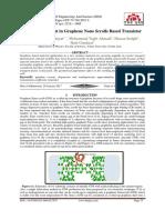 Quantum Current in Graphene Nano Scrolls Based Transistor