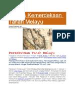 Proses Kemerdekaan Tanah Melayu