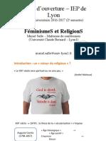 Féminismes et religions