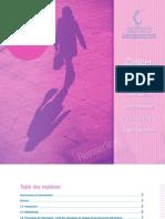 Cancer du sein-Répercussions économiques et reinsertion dans la population active