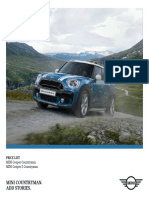 2017 Mini Countryman Prices and specifications