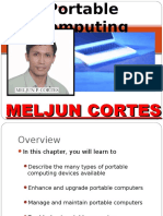 MELJUN CORTES Computer_Organization_Lecture_Chapter_19_Portable_Computing