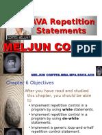 MELJUN CORTES JAVA_Control_Structures_repition