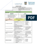 5th year construction studies scheme
